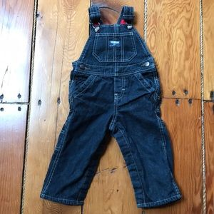 Overalls 12 month old fleece lined